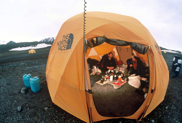 One of our Arctic Thule expedition base c& tents at Bliss Bay & Photos « Arctic Thule